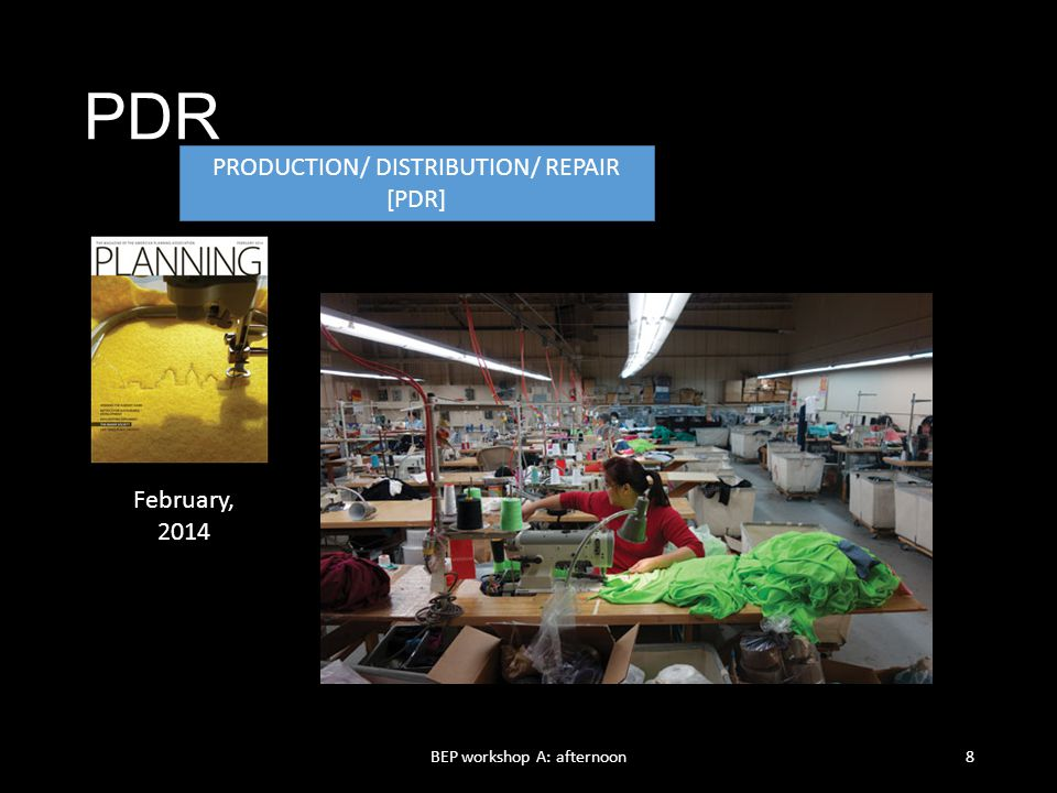 PDR Production/ Distribution/ Repair [PDR] February, 2014